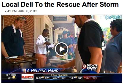 WAGSHAL'S DELI LENDS HELPING HAND: JUN 2012