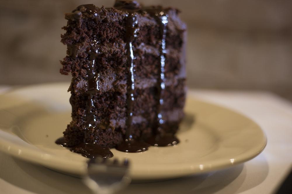 Chocolate. Cake. Icing.    MENUS