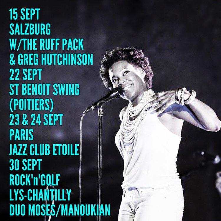 • September Concerts • #singerontheroad