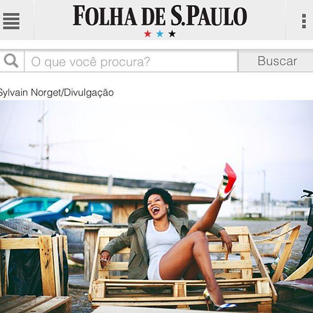 #covergirl #folhadesaopaulo #presstalk #brazil 🙏🏾🤘🏽🇧🇷 Photo: #SylvainNorget (at São Paulo, Brazil)