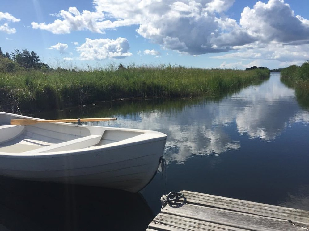 Resting. (at Muhu, Saaremaa, Estonia)