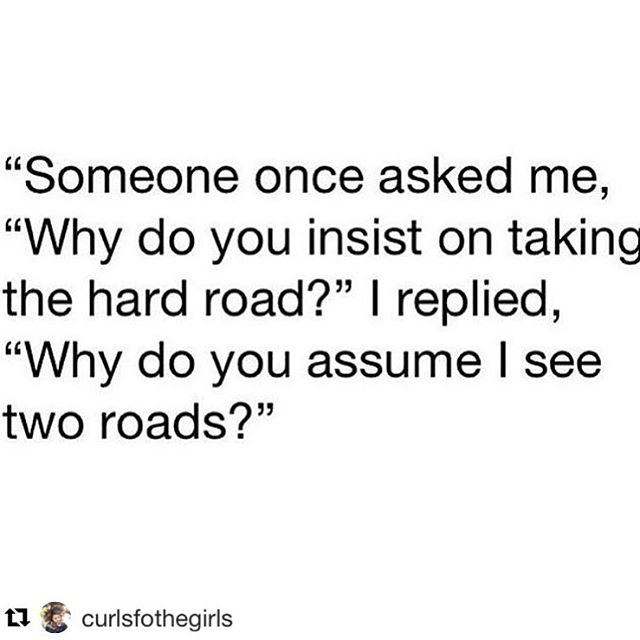 Why do you insist on taking the hard road? 😎 #planaonly