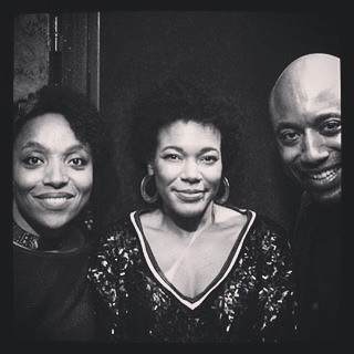 With the #frenchsoul #rnb family #hasheem and #Zahariya backstage. They have so much light emanating from their smiles and voices.💜 #agedordurapfrancais  (à Casino de Paris)
