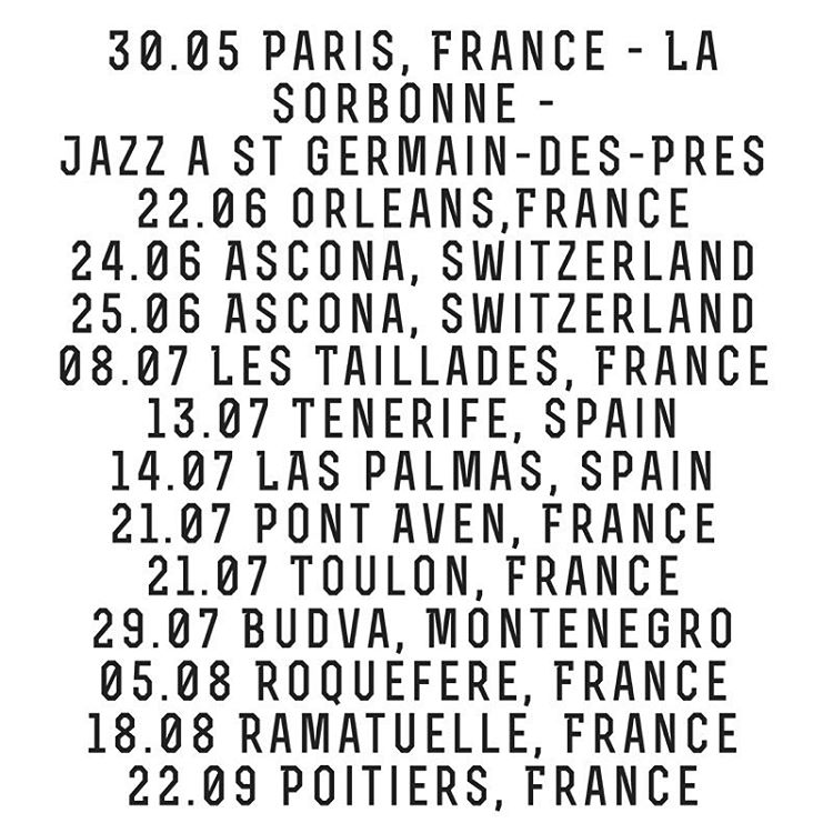 🎤 Tickets:  http://goo.gl/8hz23I  #breakingpoint #concertdates I am 🕴 with joy! 🤗  www.chinamoses.com  #coolsummer #albumthisfall #jazz #soul #blues #tourdates