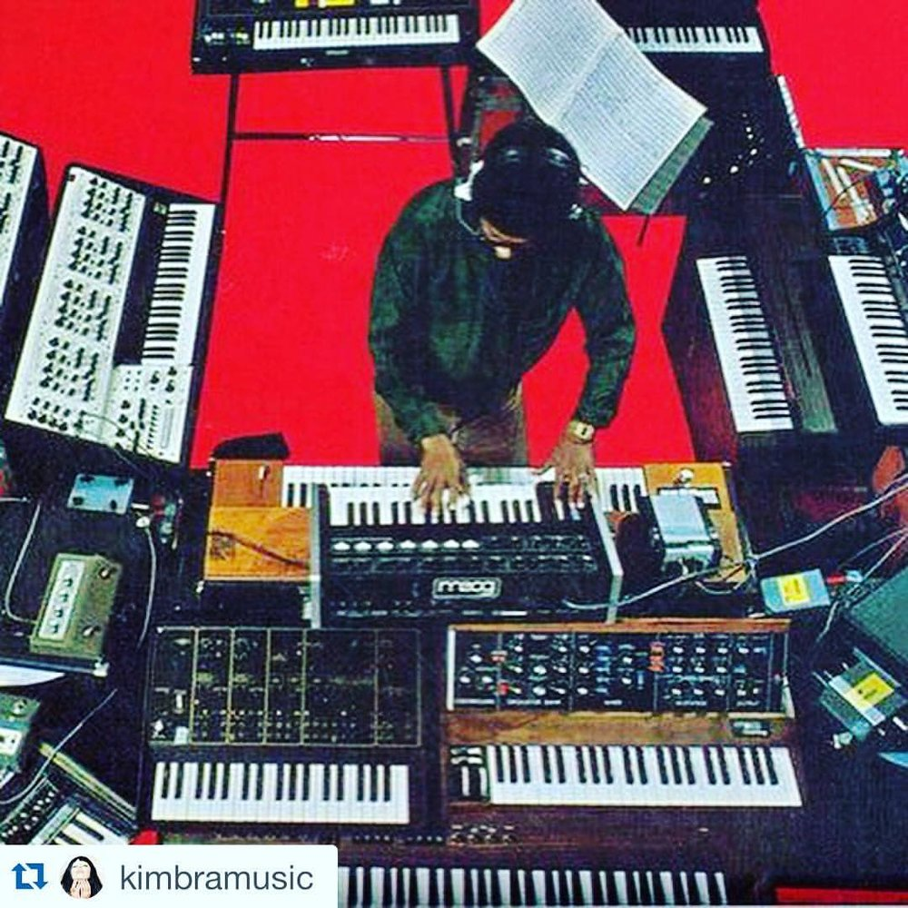 #Repost @kimbramusic with @repostapp.  ・・・  …Happy Birthday Herbie Hancock. You're a boss. Gonna listen to a bunch of your albums today & get mad inspired. #studiogoals