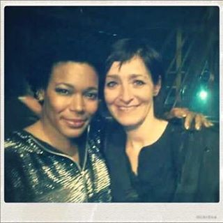 Thanks to them: Lydie. Her first time coming to one of my shows gave me the biggest hug. 💗#Arles #cargodenuit  (à Cargo de Nuit)