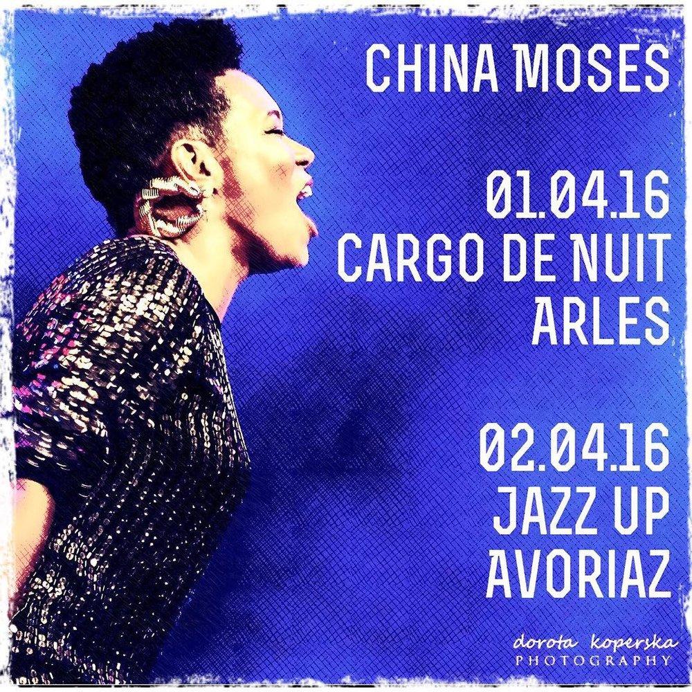 Next concerts🎤🖖🏾💗 1er Avril - Cargo de Nuit - Arles http://goo.gl/SZP3mu 2 Avril - Jazz Up -Avoriaz Tel +33 (0)450740211