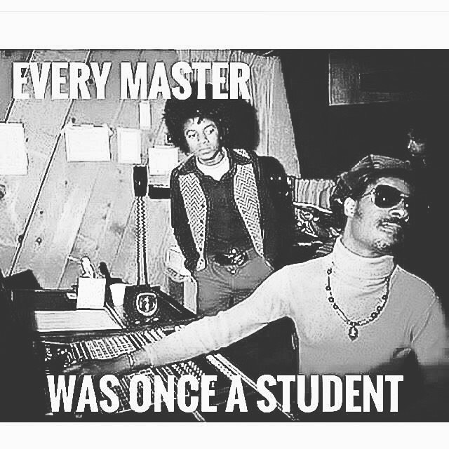 Every master was once a student. #mood #study #nevernotlearning #dontgetcomfortable #lifeschool (à Planet Earth, Solar System)
