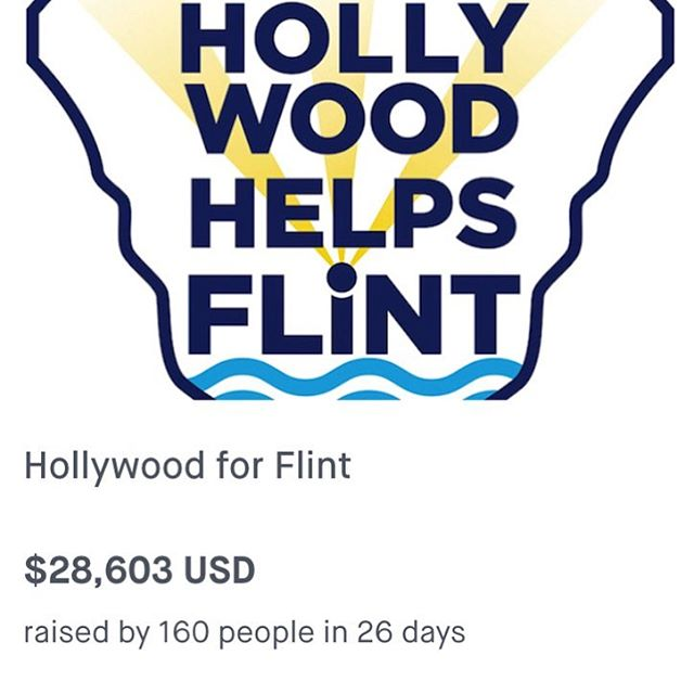 So proud of my mom @deedeebridgewater Not just talking about it but being about it. #inspiration #donate https://www.generosity.com/emergencies-fundraising/hollywood-for-flint–2