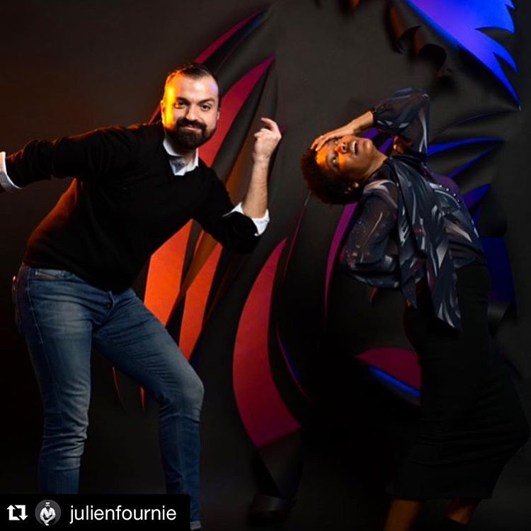 #letsdance @julienfournie by @marionleflour #theredstudio #photoshoot #funtimes #fashionfamily #parisstyle #goodtimes #goodpeople