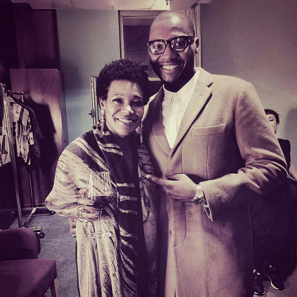 #Throwback #bilbao Backstage with my musical #partnerincrime @marshallmusic after my gig with the #bilbaoorkestrasinfonikoa
