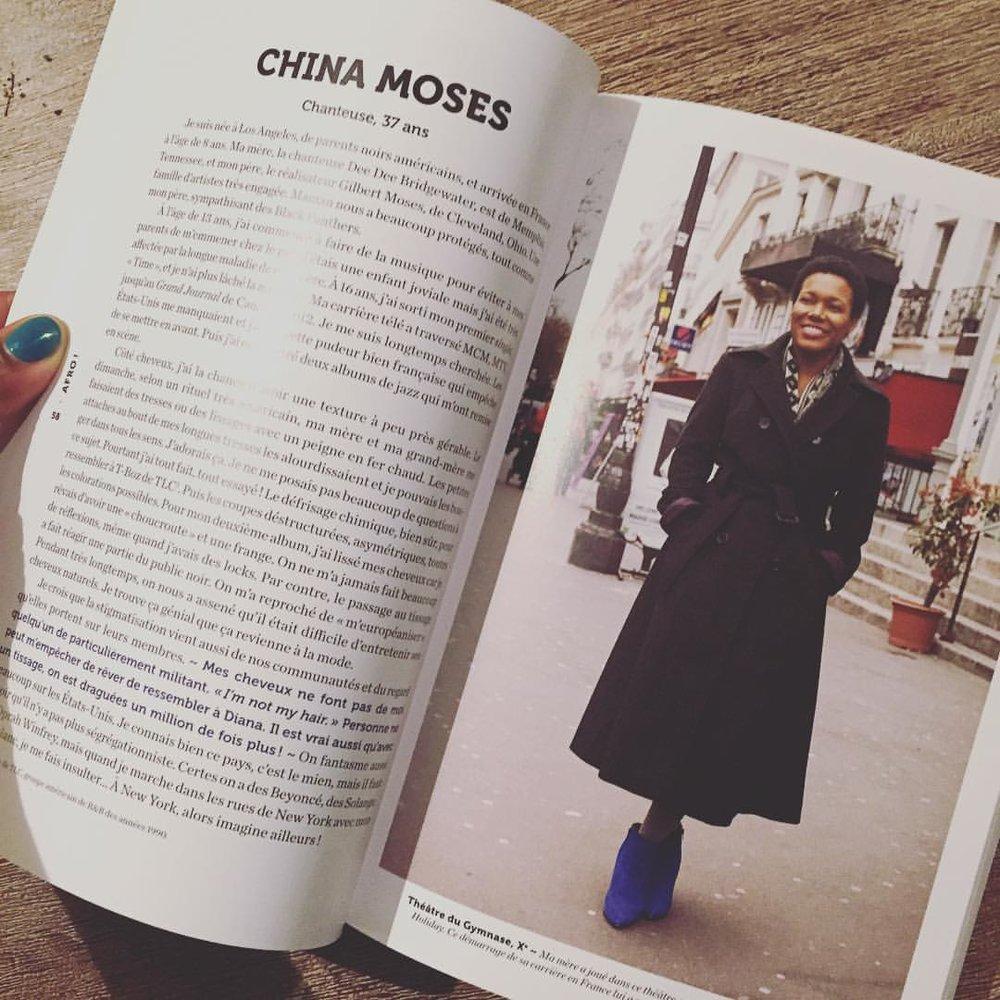 Ma page dans #afro de @rokhayadiallo et Brigitte Sombié
