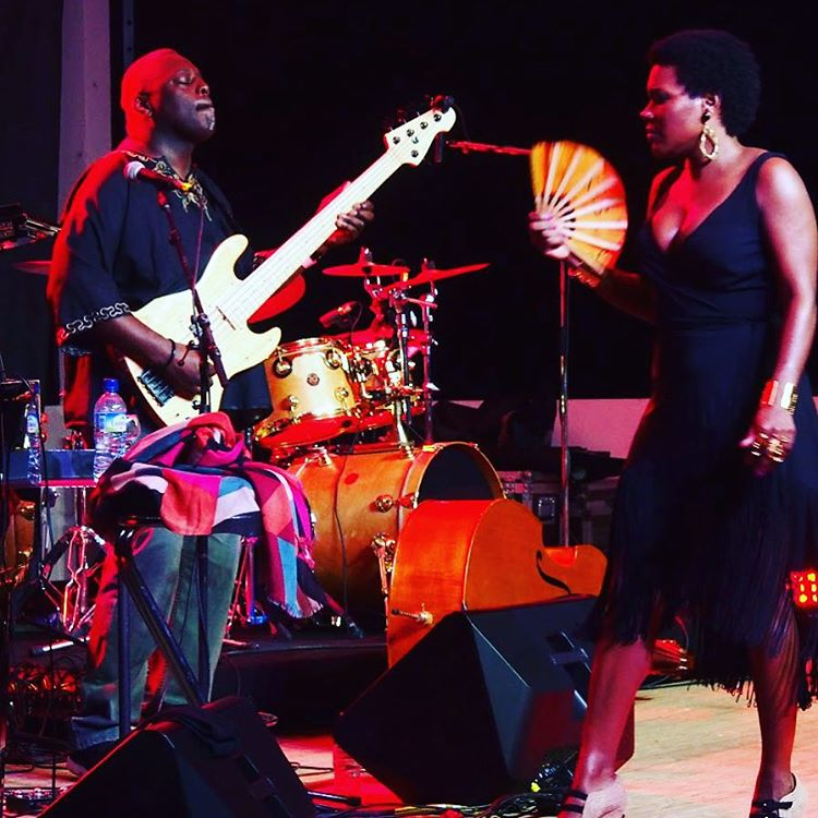 Throwback I think Neville was feeling It! #martiniquejazzfestival2015 #singerontheroad #madinina #lapagerie 📷: Walatta & Roxanne http://piggytopia.blogspot.com/2015/12/martinique-jazz-festival-focus-sur.html#gpluscomments