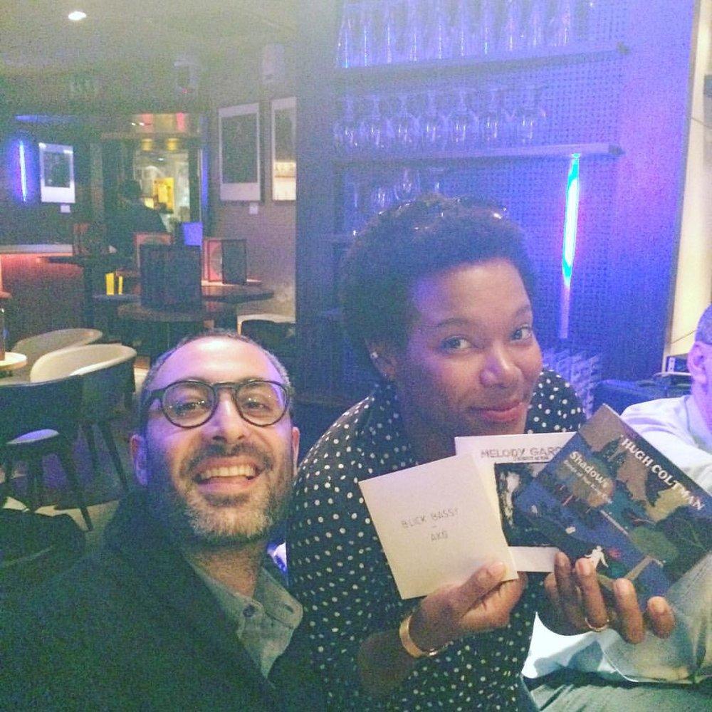 with my radio mate @jeancharles_doukhan 📷 @caro_fonta #prixtsfjazz #lesvoix #hughcoltman #melodygardot #blickbassy #laclassedujazz #myjazzis #jazziscool #paris (à Duc Des Lombards)