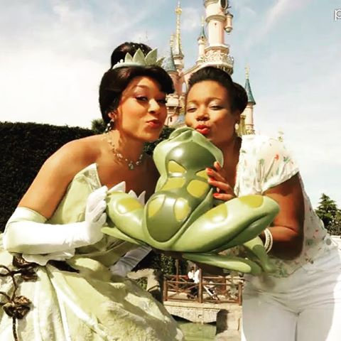 You may kiss a frog or two in your life… I am the French voice of #tiana #princessandthefrog #disney #voiceover