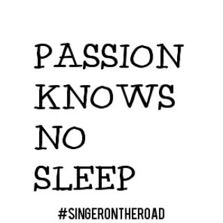"After a concert in #istanbul a young lady asked for advice on having a career as a singer and I told her: ""Passion knows no sleep"" Be prepared to give up your comfort because your heart and mind are on a creative mission and will not be at rest until you complete it. #wordsiliveby #singerontheroad #breakingpoint #musicismyreligion"