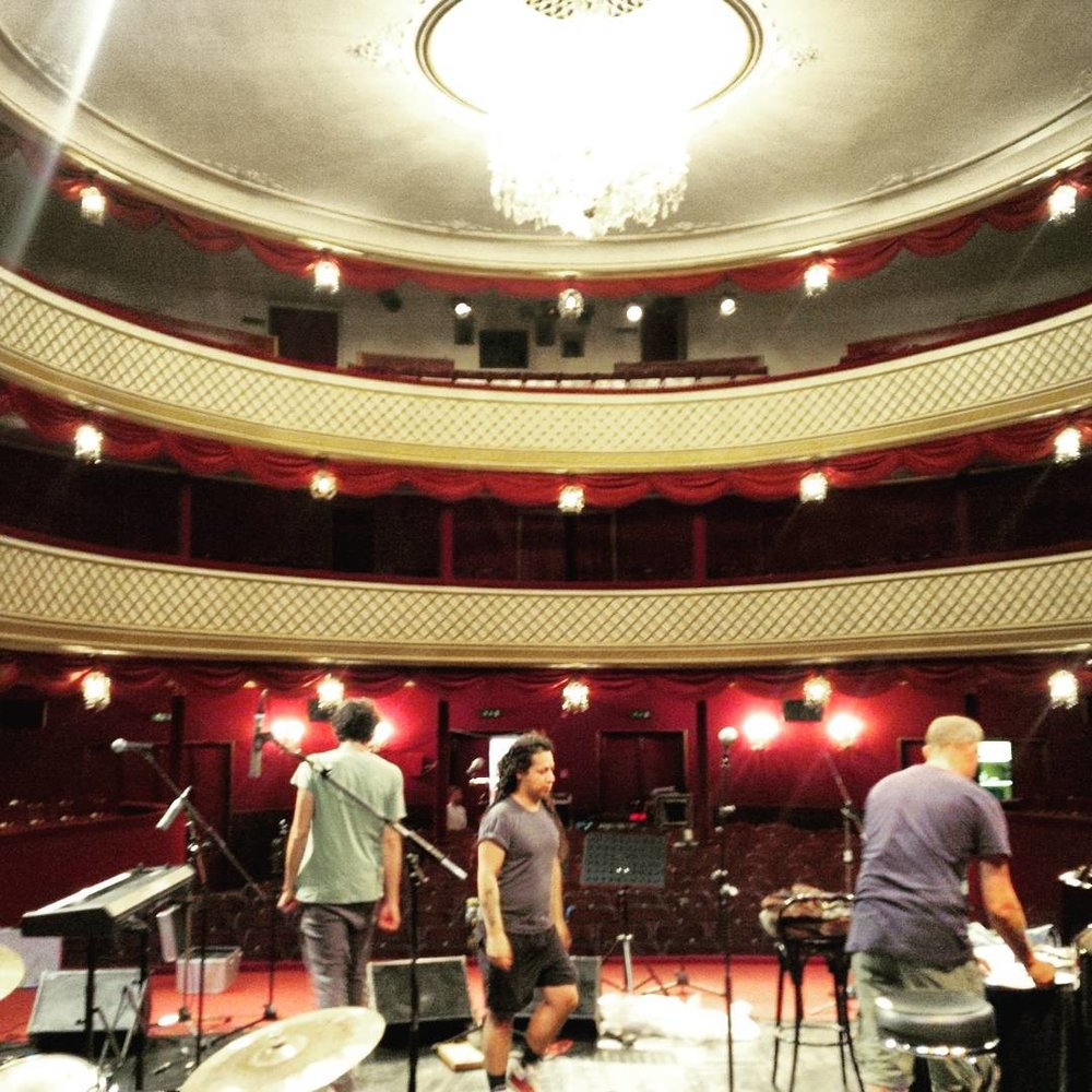Our home for the evening. #stadttheater #gmunden #singerontheroad