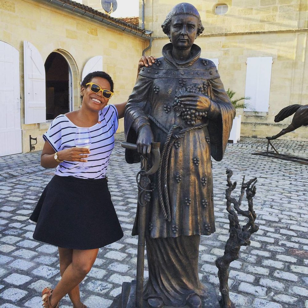 With my new friend #stemilian #stemilion #StEmilionJazz #lacouspaude #aromesdejeunesse #lajurade #singerontheroad