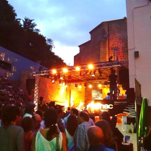 On stage memories. From their point of view! #concierto #chinamoses #jazzaldia #heineken #sansebastian #donosti #plazadelatrinidad