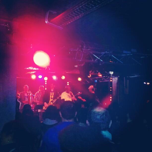 The #horndogz rocked #labellevilloise tonight #bigbanggang #breis #peeda #benjaminsiksou #parisiangroove