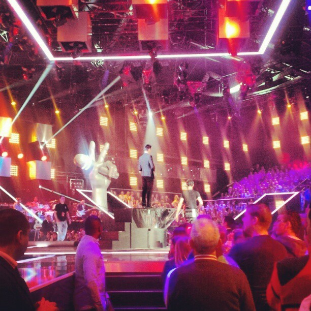 @YoannFreget chante du James Brown! Yes! #thevoicefr
