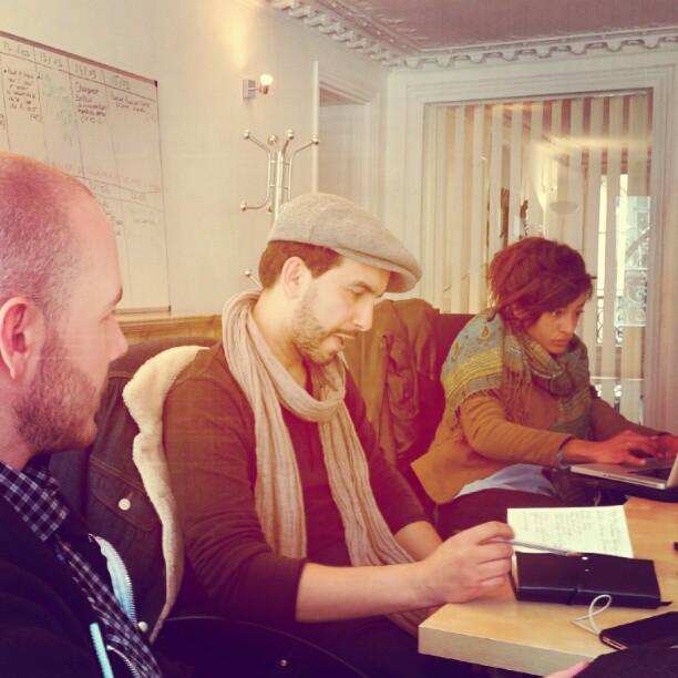 @captainprod #nevernotworking #jazzdayparis #documentary #welovejazz preparing our doc on #internationaljazzday