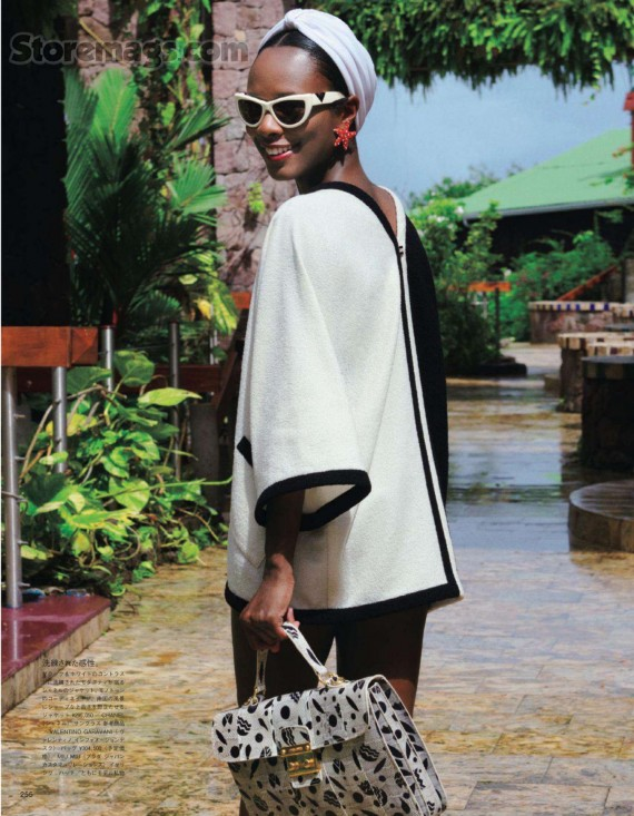 MY TYPE OF STYLE   Shala Monroque    Vogue Japan    January 2012          @BGKIonline