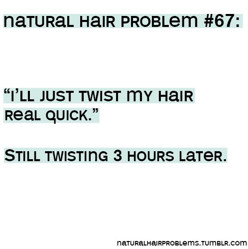 NATURAL HAIR PROBLEMS.