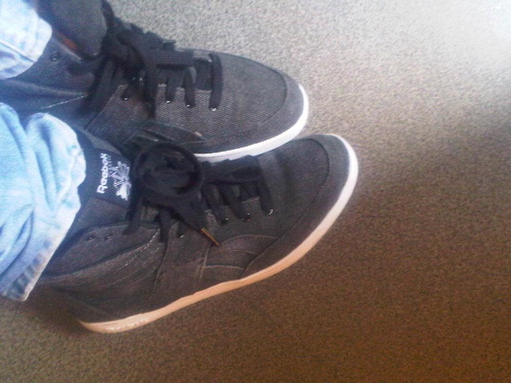 I love my #reebok . Soundcheck @ Francheville #sneakerchick