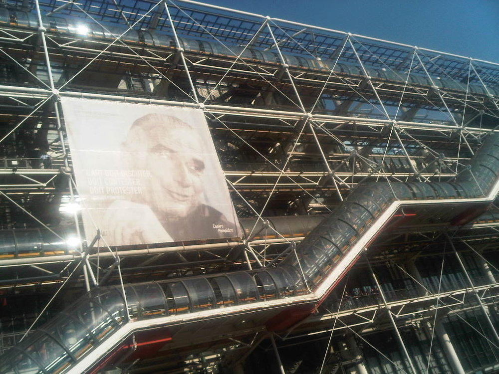 """L'art doit discuter, doit contester, doit protester"" Georges Pompidou (one of my favorite spots in Paris)"