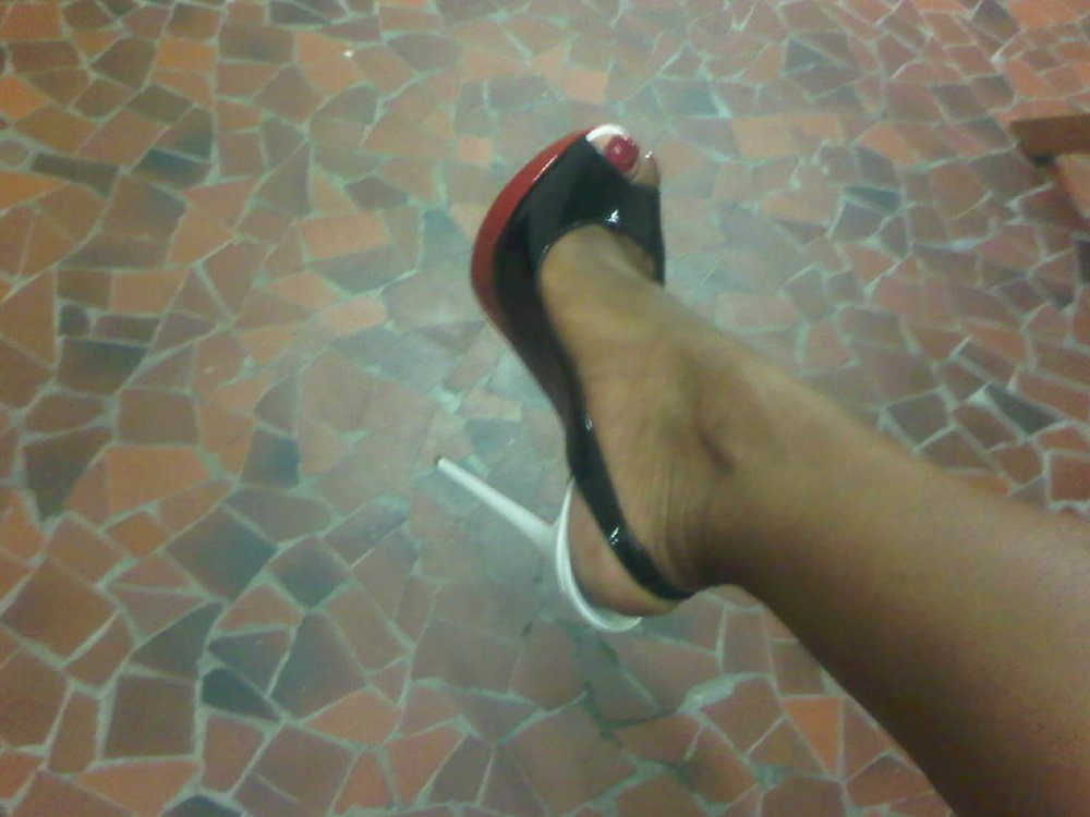 My Louboutin's for last night at Ambassador Killion's residence in Paris. #ilovemylife.