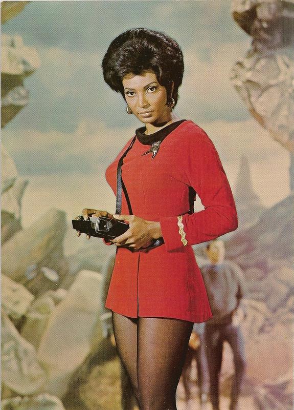Nyota Uhura - Star Trek aka Nichelle Nichols - Singer, actress and space advocate