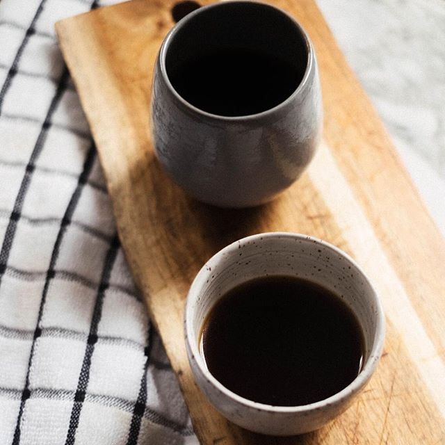 Mornings made right with KIN + HOME . Our handmade pieces are designed in Red Hook BK and hand crafted individually by the incredible @chrislynclay We collaborated on these pieces of functional art with your home in mind and think they elevate every ☕️moment . A limited amount of mugs are available before we launch our next season this month. You can purchase via the link in our bio to support local makers + business.