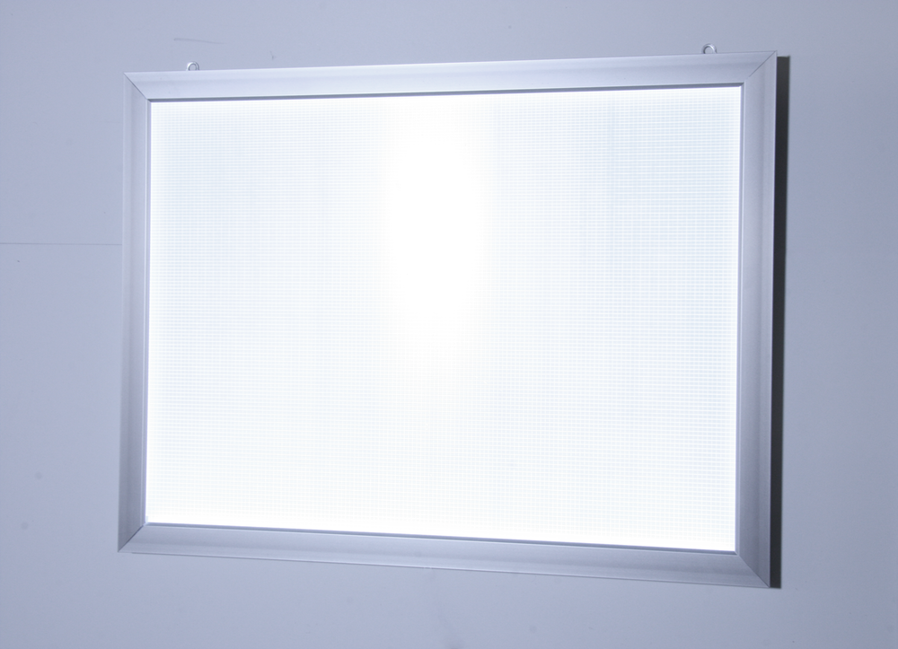 LED light box snap frame