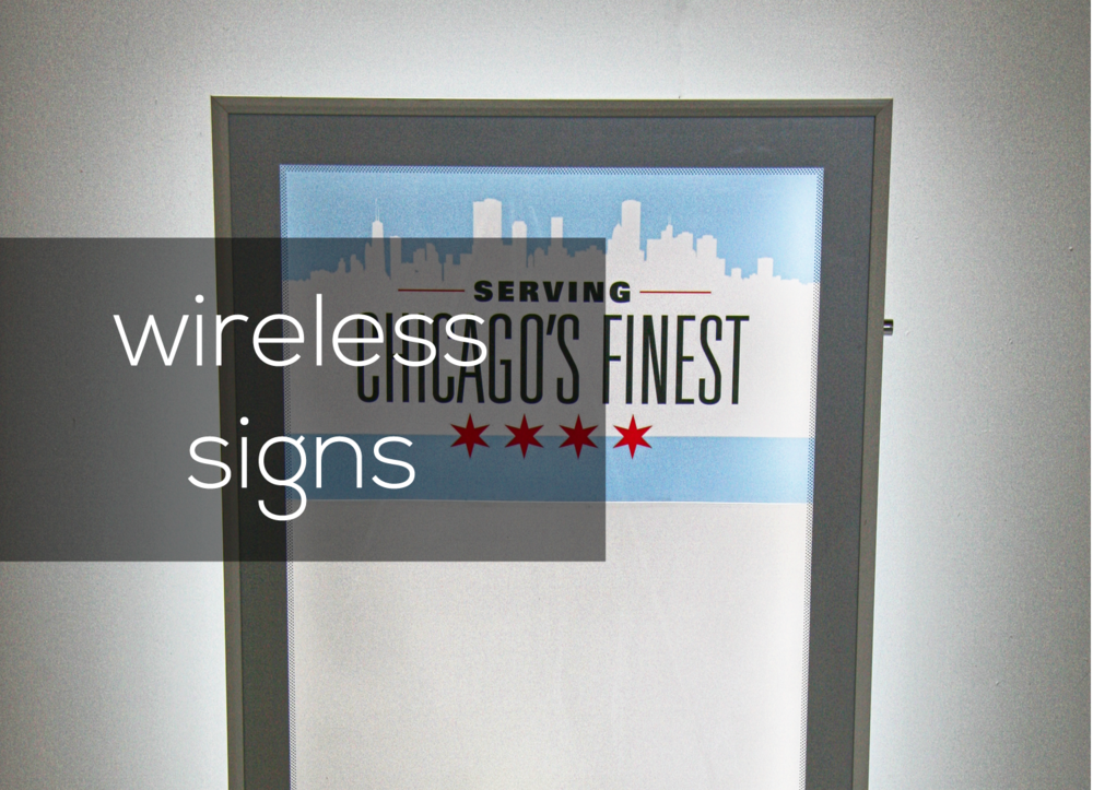 wireless LED light box link