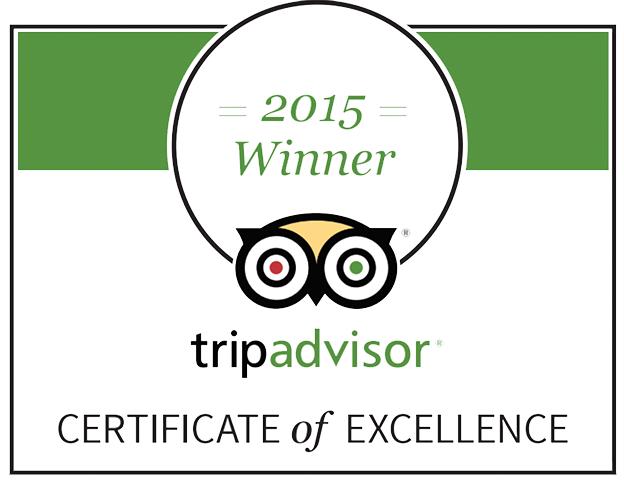 Moctezumas Trip Advisor Award