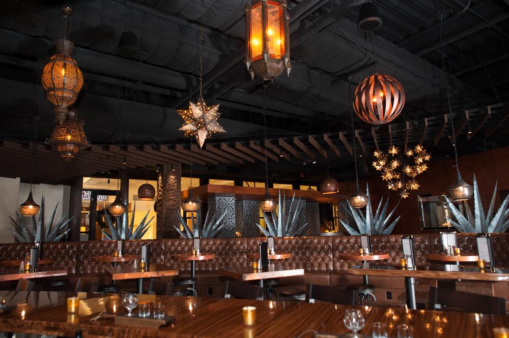 Moctezuma's Restaurant Design