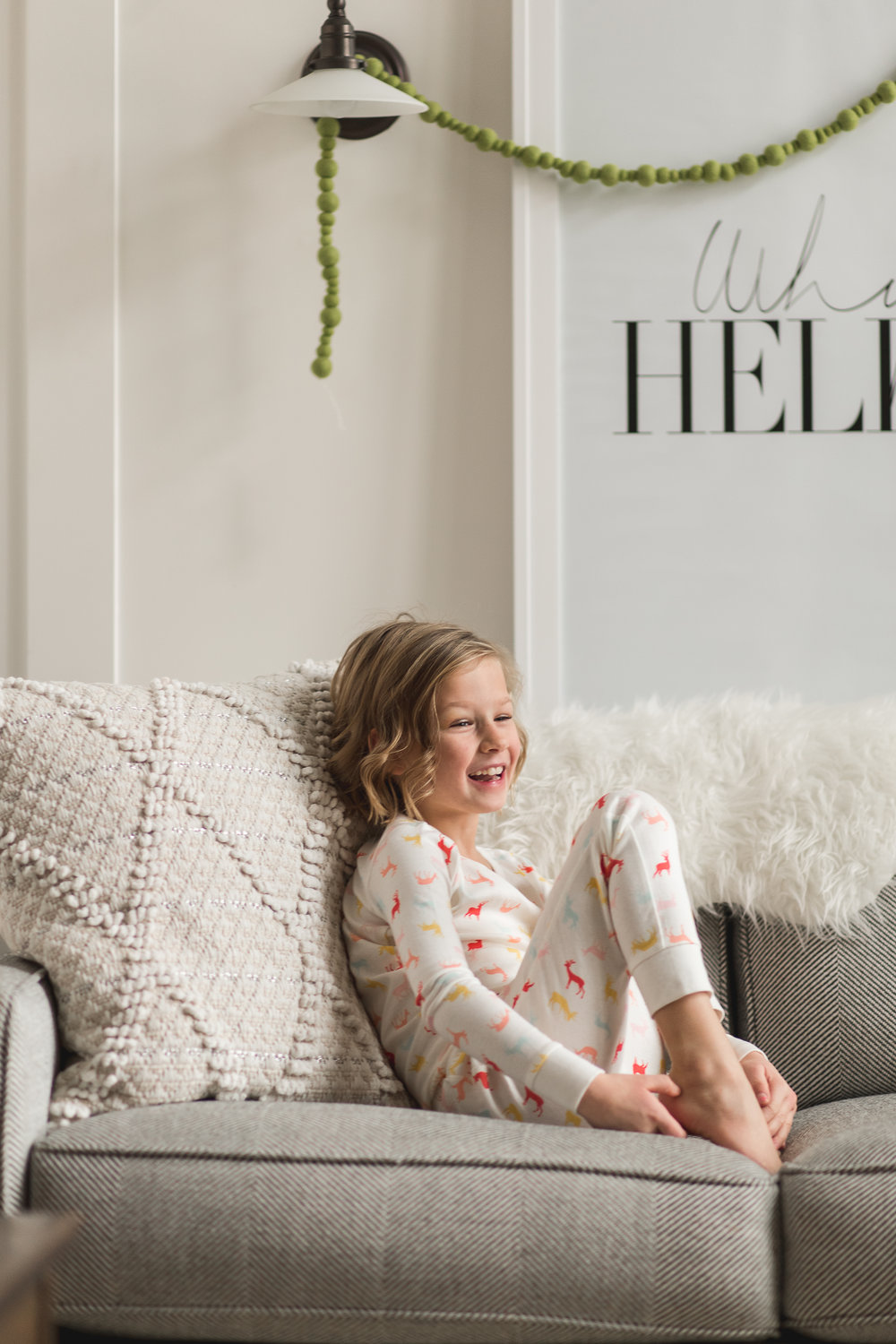 In-home family Christmas  session {Salt Lake City to Provo lifestyle photographer}