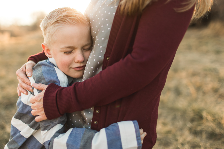 Sibling family sunset session {Utah lifestyle photographer}