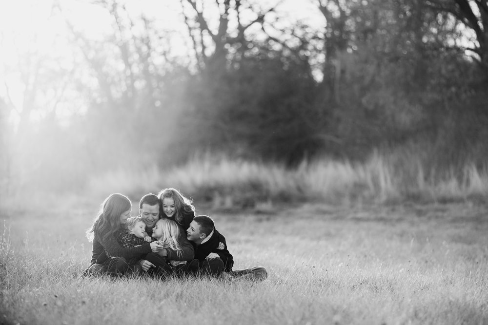 Golden Hour Family Portraits {Highland UT lifestyle photographer}
