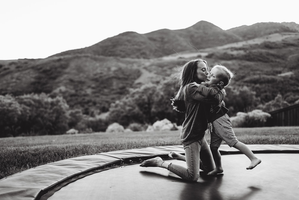 In-home family session | Mountain Green home {Utah lifestyle photographer}