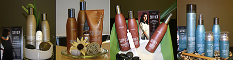 Display themed product bundles throughout your salon.