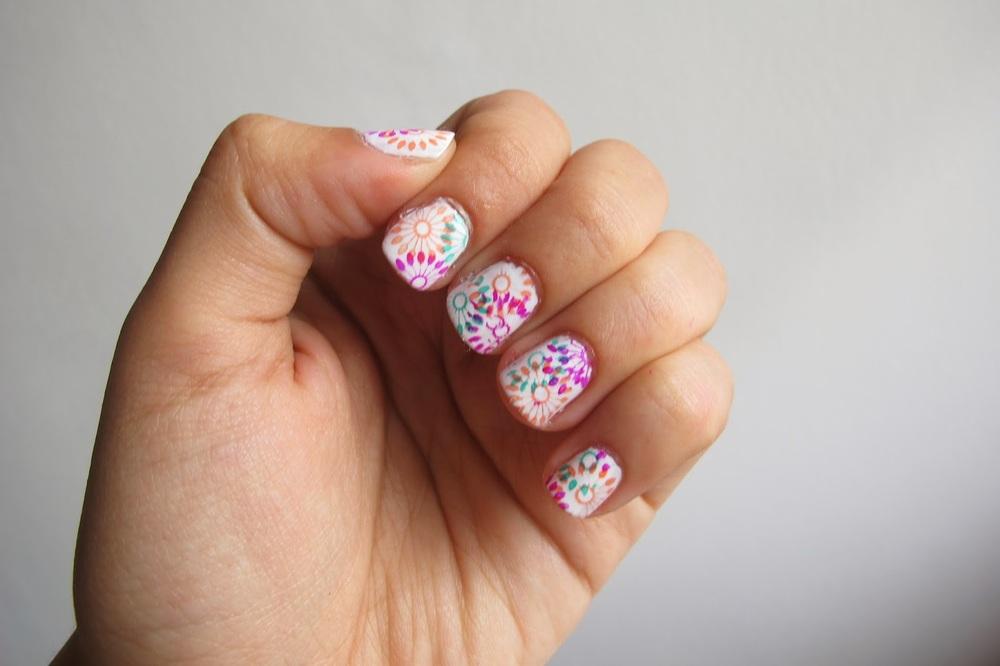 Nail Stamping Kit Review Nail Art Tutorial Video Onethousandlooks
