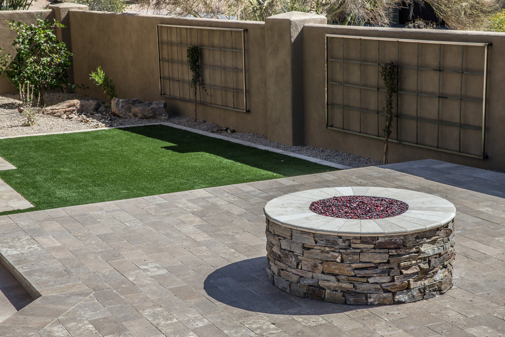 The Days Of Using Only Gray Concrete For Patio Surfaces Are Long Gone.  Todayu0027s Creative New Alternatives Include The Use Of Flagstone, Pavers, ...