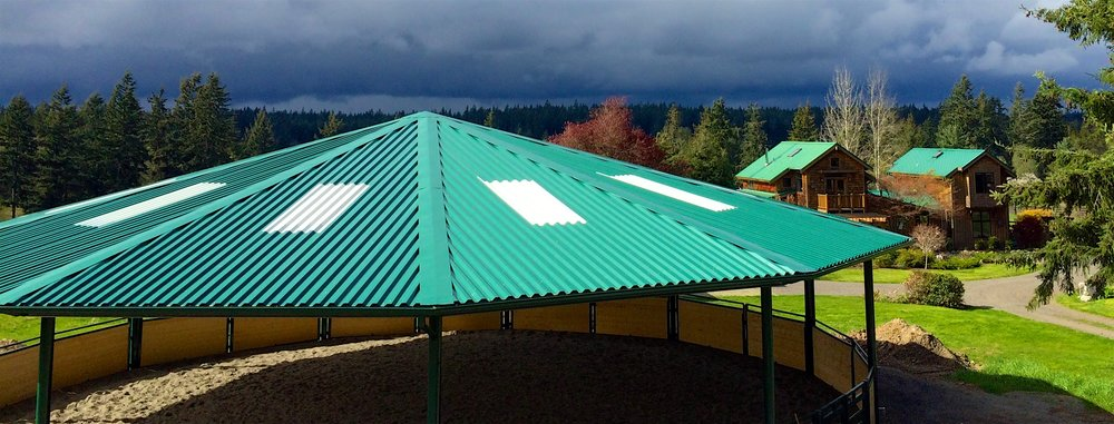 Jempe Center is located at Pegasus Ranch, South Whidbey Island, WA.