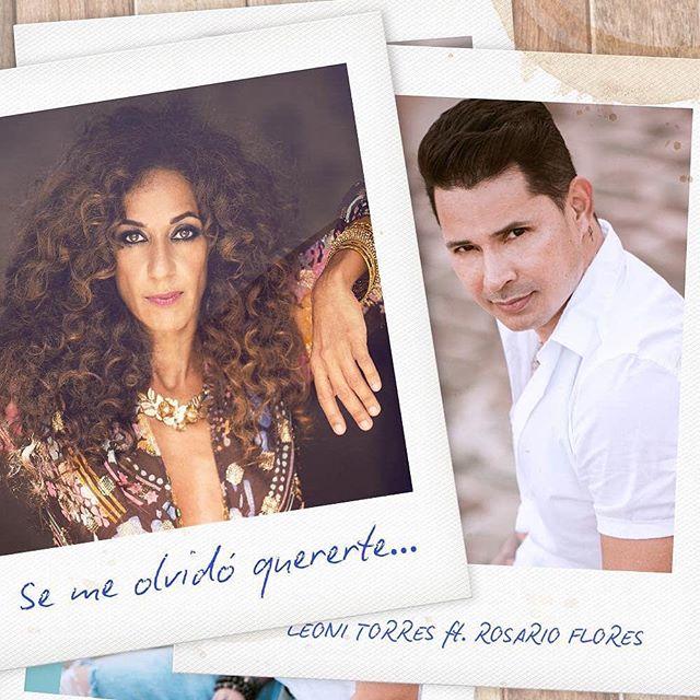 Nueva Música 🚨🚨🚨Ya puedes pre-salvar #SeMeOlvidoQuererte feat #rosarioflores en @spotify 🙌🏼 Link en la BIO de @leoni_torres  #Puntilla #PuntillaMusic #leonitorres #spotify #presave
