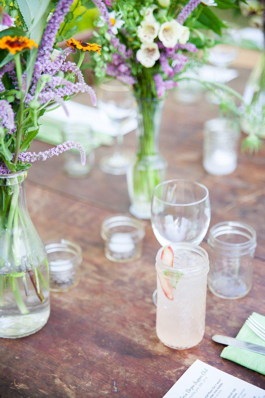 DIY event flowers