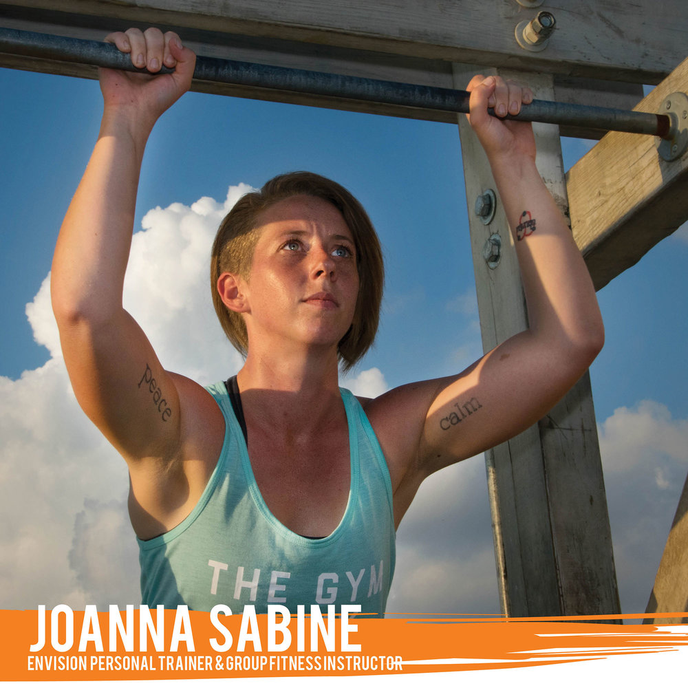 "No matter where you are on your fitness path, ""Sabine"" can help you prepare for (and conquer!) anything life throws at you! Using functional fitness techniques as well as her specialization in obstacle course training, Sabine helps her clients gain the strength, mobility, endurance, and confidence they need to navigate any of life's obstacles."