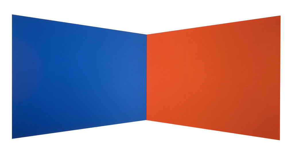 Ellsworth Kelly, Blue Red, 1968