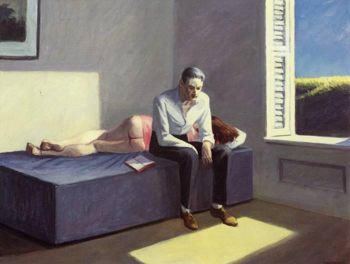Edward Hopper - Excursion into Philosophy (1959)